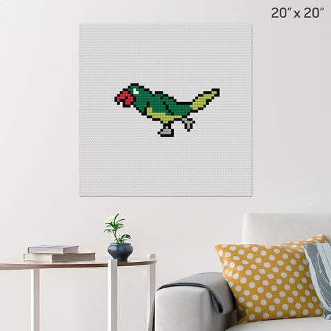 Parrot Brick Poster