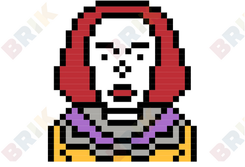Pennywise Pixel Art