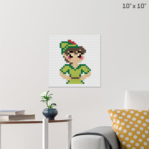 Peter Pan Brick Poster