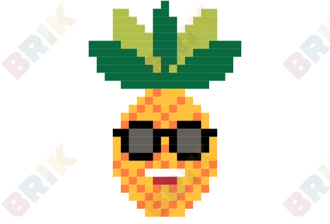 Pineapple Pixel Art
