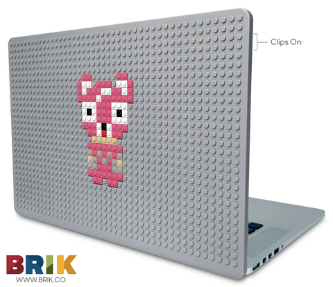 Pink Bear Laptop Case