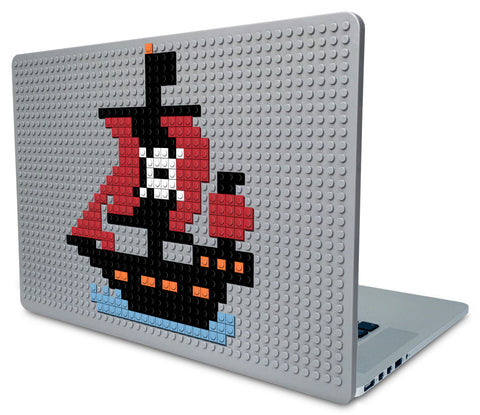 Pirate Ship Laptop Case