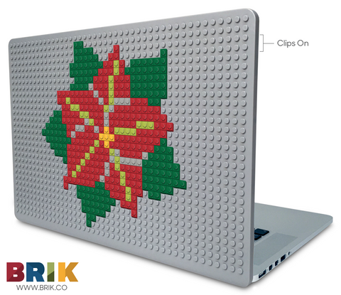 Poinsettia Day Laptop Case