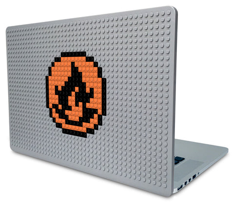 Pokemon Fire Energy Laptop Case