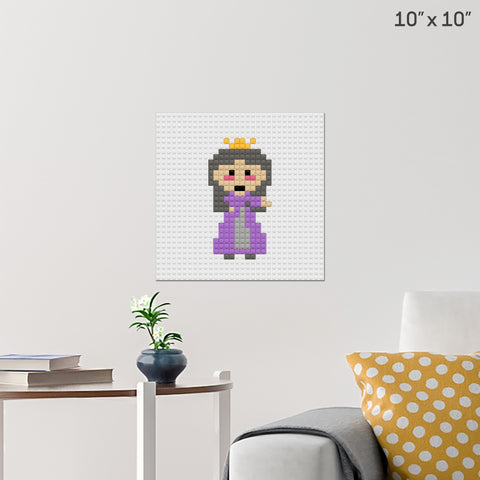 Princess Brick Poster