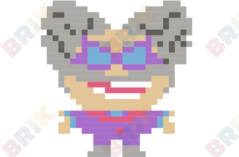 Professor Pippy P. Poopypants Pixel Art