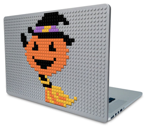 Pumpkin Witch Laptop Case