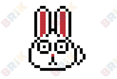 Rabbit Pixel Art