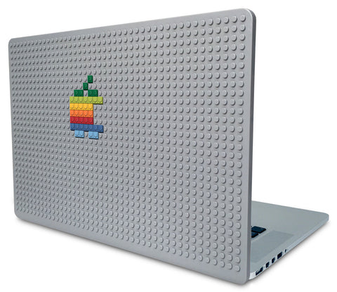 Rainbow Apple Laptop Case
