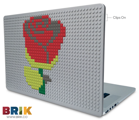 Red Rose Laptop Case