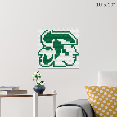 Rhett and Link Symbol Brick Poster