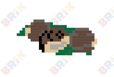 Roast Chestnuts Day Pixel Art