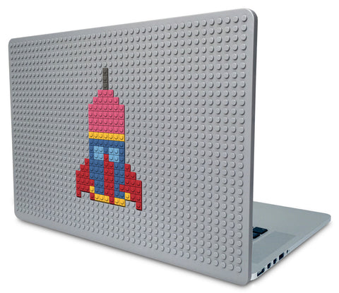 Rocket Ship Laptop Case
