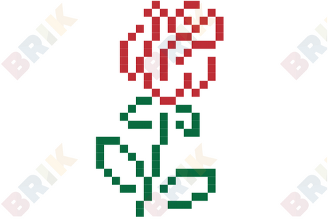 Rose Month Pixel Art