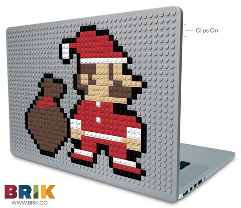 Santa Mario Laptop Case