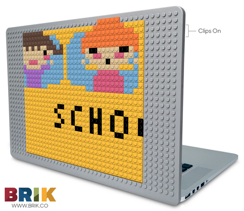 School Bus 2 Laptop Case