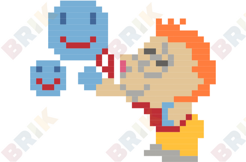 Send A Smile Day Pixel Art