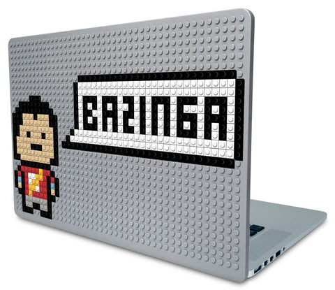Sheldon Bazinga Laptop Case