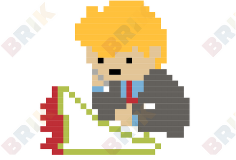 Singles Awareness Day Pixel Art