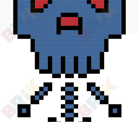 Skeleton Pixel Art