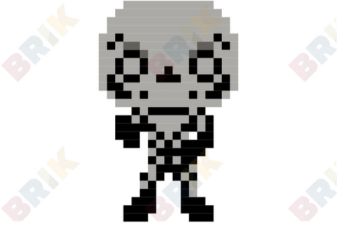 Skull Trooper Pixel Art