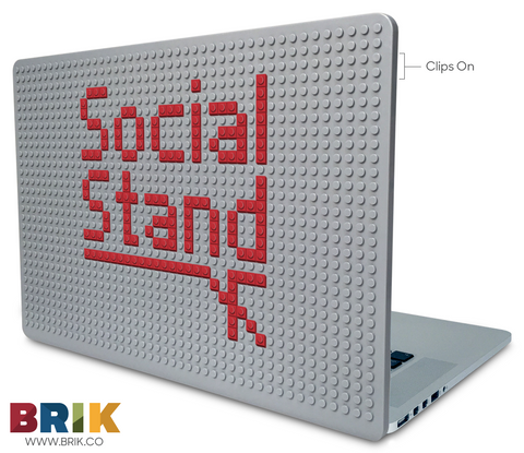 Social Stand Laptop Case