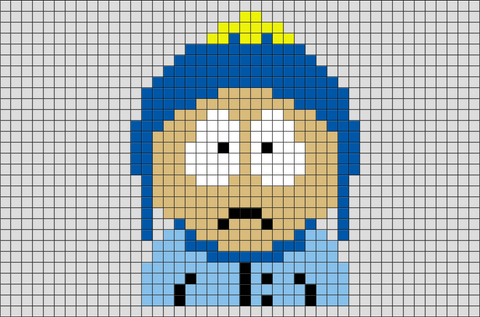 South Park Craig Pixel Art