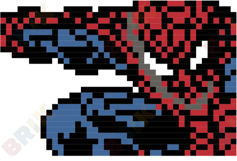 Spider-Man Pixel Art