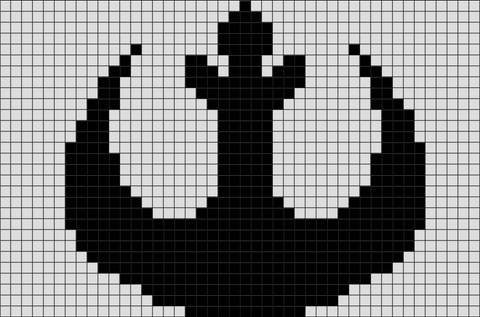Star Wars Rebel Alliance Pixel Art