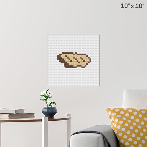 Steak 2 Brick Poster
