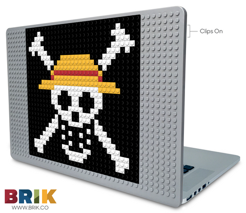 Laptop Case Tagged Straw Hat Pi Brik