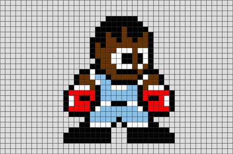 Street Fighter Balrog Pixel Art