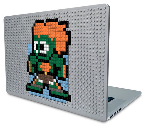 Street Fighter Blanka Laptop Case