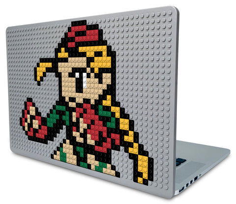 Street Fighter Cammy Laptop Case