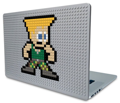 Street Fighter Guile Laptop Case