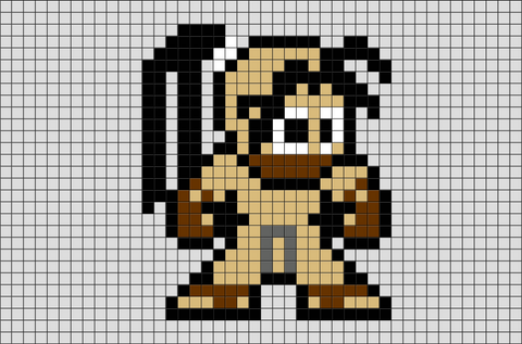 Street Fighter Ibuki Pixel Art