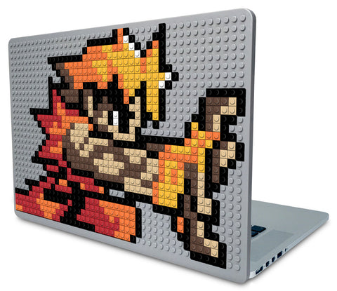 Street Fighter Ken Masters Laptop Case