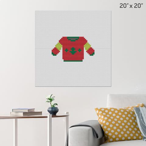 Sweater Brick Poster