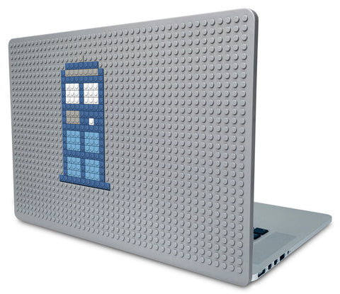 Tardis Doctor Who Phone Booth Laptop Case