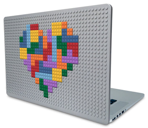 Tetris Heart Laptop Case