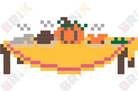 Thanksgiving Day Pixel Art