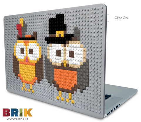 Thanksgiving Owl Laptop Case