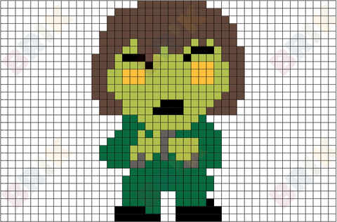 The Creeper Pixel Art