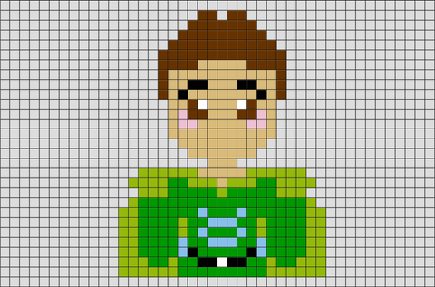 The Frog Prince Princess Tiana Prince Naveen Pixel Art