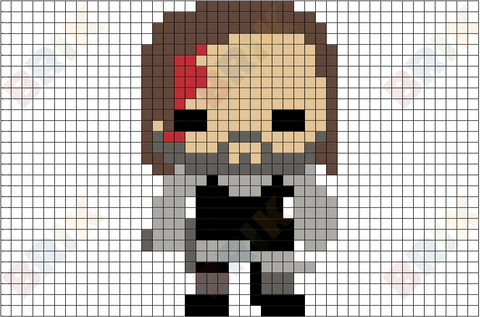The Hound Pixel Art