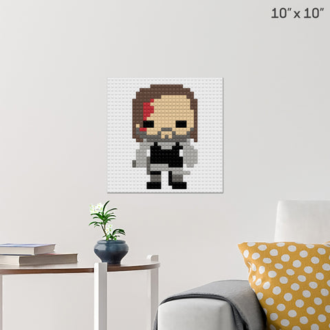 The Hound Brick Poster