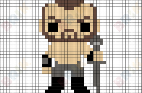 The Mountain Pixel Art