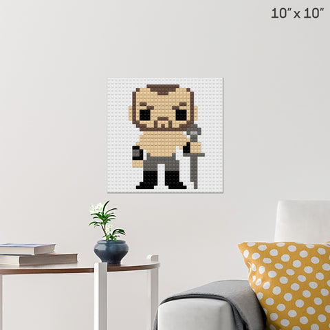 The Mountain Brick Poster