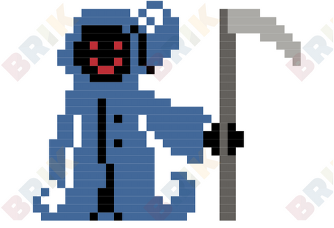 The River Person Pixel Art