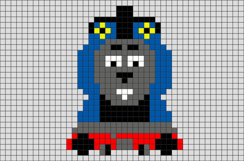 Thomas and Friends Pixel Art